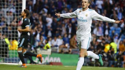 Real Madrid goleó al Celta y se entona para la final de Champions