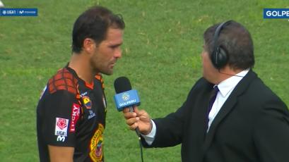 """Mauricio Montes: """"Nos hicieron goles por fallas nuestras y nos vamos con las manos vacías"""""""