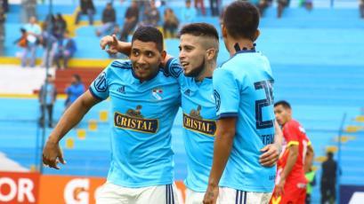 Liga1 Movistar: Cristal goleó 3-0 a Sport Huancayo con un hat-trick de Cristian Palacios
