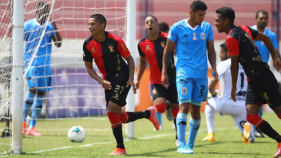 Kevin Quevedo anotó su primer gol FBC Melgar y rompió su mala racha de un año y medio sin marcar (VIDEO)