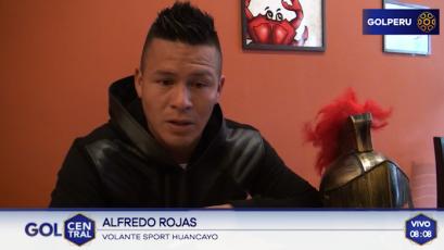 """Alfredo Rojas """"Perdí la final del 2014 contra Cristal, esta es mi revancha"""""""