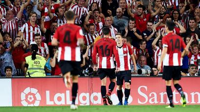 Athletic Bilbao supera al Celta como visitante y sale de la zona de descenso