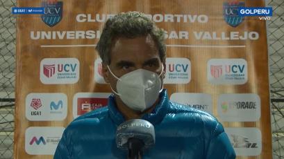 """José Del Solar: """"Somos el único equipo invicto desde que se reinició el campeonato"""" (VIDEO)"""