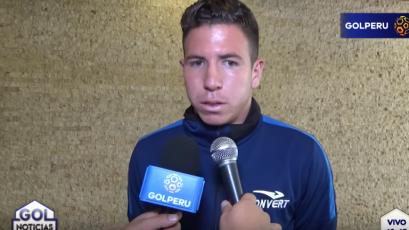 "Adrián Ugarriza: ""Nuestro objetivo a corto plazo es la Copa Sudamericana"""