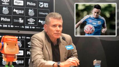 Christian Cueva complica su situación en Santos: fue separado del plantel y podría ser sancionado