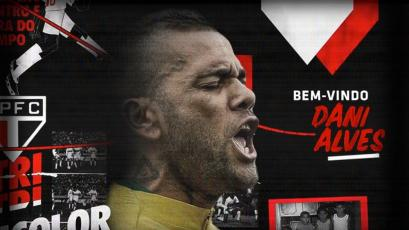 Dani Alves es nuevo jugador del Sao Paulo: enfrentará a Paolo Guerrero y Christian Cueva (VIDEO)