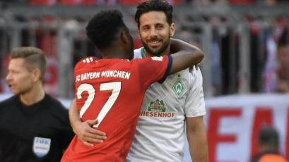 Bayern Múnich: David Alaba le dedicó emotivo mensaje a Claudio Pizarro