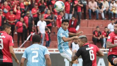 FBC Melgar vs. Sporting Cristal: así fueron las 2 expulsiones en menos de 3 minutos (VIDEO)