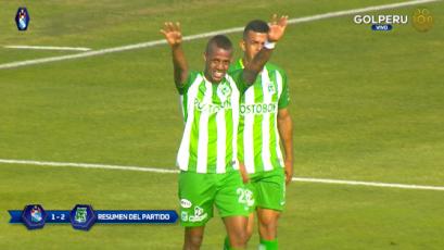 Sporting Cristal cayó ante Atlético Nacional