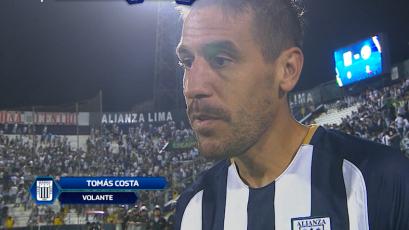 """Tomás Costa: """"Tenemos que mejorar en algunos errores puntuales"""""""