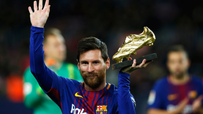 Oficial: Lionel Messi gana su sexta Bota de Oro