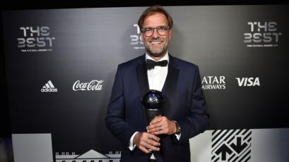 Jürgen Klopp gana el premio The Best como mejor técnico del mundo