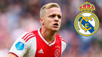 Donny Van de Beek estaría a un paso del Real Madrid