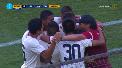 Universitario derrotó por 1-0 a Comerciantes Unidos