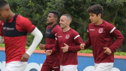 Pablo Lavandeira se integró a los entrenamientos de Universitario