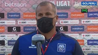 """Jahir Butrón: """"Nosotros habíamos propuesto, pero el fútbol no es de merecimientos"""" (VIDEO)"""