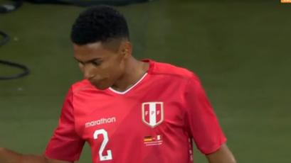 Marcos López hace su debut oficial con la Selección Peruana