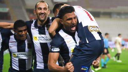 Alianza Lima venció 2-1 a Universitario y es líder de la Fase 2 de la Liga1 Betsson (VIDEO)