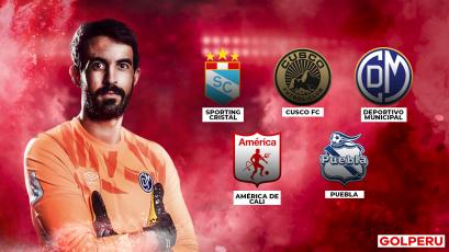 Diego Melián: ¿cuál es el futuro de uno de los mejores arqueros de la Liga1 Movistar?