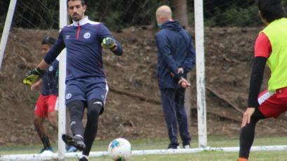 Diego Melián, portero de Deportivo Municipal: