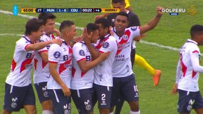 Deportivo Municipal derrotó a Comerciantes Unidos por la mínima diferencia