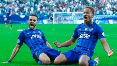 Al-Hilal, con André Carrillo, igualó 2-2 ante Al-Taawon y sigue en la cima