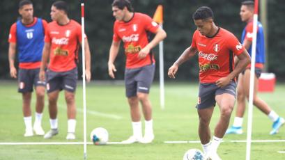 Seleccion Peruana Sub 23 sumó una nueva práctica de cara al Torneo Preolímpico de Colombia