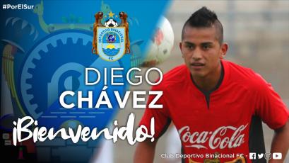Deportivo Binacional fichó a Diego Chávez