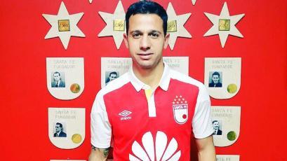 Diego Guastavino fue presentado como refuerzo de Independiente de Santa Fe