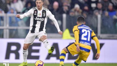 Parma rescata un empate sobre la hora ante la Juventus