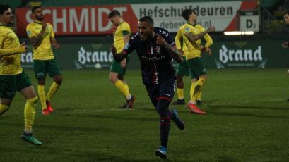 Eredivisie: Sergio Peña anotó un gol en el triunfo del FC Emmen por 3-1 ante Sittard (VIDEO)