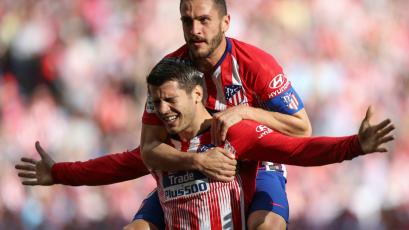 Atlético Madrid se impone 2-0 sobre el Villarreal