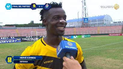 "Hervé Kambou: ""Era importante para nosotros esta victoria"""