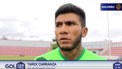 "Tarek Carranza: ""Tenemos que sacar adelante los dos partidos de visita"""