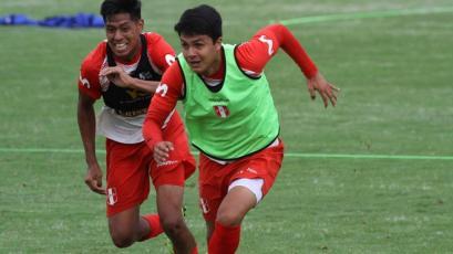 Selección Peruana Sub 20: Jairo Concha ya se encuentra recuperado