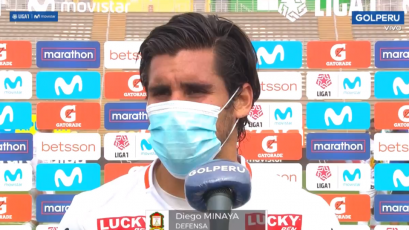 """Diego Minaya sobre el empate de Ayacucho FC con FBC Melgar: """"Ha sido un partido parejo"""""""