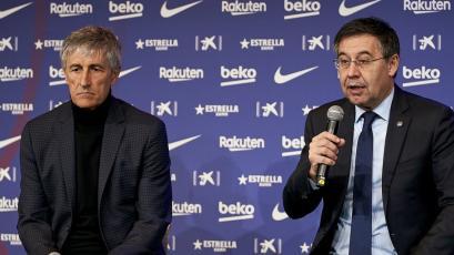 Barcelona: se cuestiona continuidad de Quique Setién para la próxima temporada