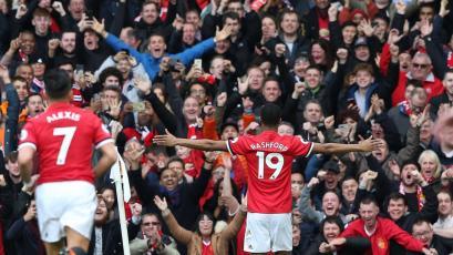 Premier League: Manchester United venció al Liverpool con dos Golazos de Rashford