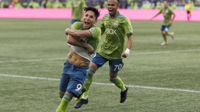 Raúl Ruidíaz en el once ideal de la fecha de la MLS