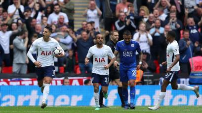 Premier League: Tottenham y Leicester dieron un festival de goles