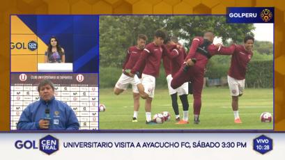Universitario continúa sus entrenamientos de cara al duelo con Ayacucho FC