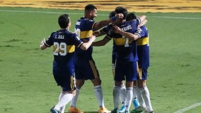 Copa Libertadores: Carlos Zambrano fue titular en triunfo de Boca Juniors ante Libertad