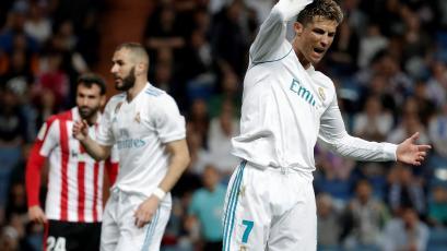 Cristiano Ronaldo marca un golazo para rescatar al Real Madrid