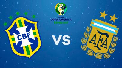 Brasil y Argentina, en el 'Clásico de Sudamérica', abren las semifinales de la Copa América 2019