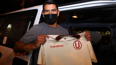 """Enzo Gutiérrez, nuevo delantero de Universitario, llegó a Lima: """"Voy a tratar de que sean felices"""""""