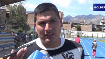 """Diego Mayora: """"Vengo con ganas de hacer muchos goles"""""""