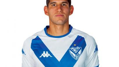 Luis Abram fue titular en el empate de Vélez