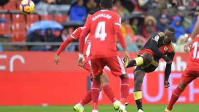 Luis Advíncula y Rayo Vallecano sumaron 7 fechas al hilo sin ganar