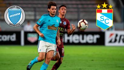 Copa Libertadores: Sporting Cristal cayó como visitante ante Godoy Cruz