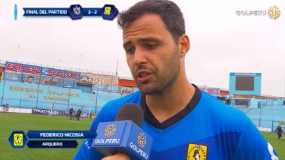 """Federico Nicosia: """"Ellos hicieron buenos cambios en el segundo tiempo"""""""